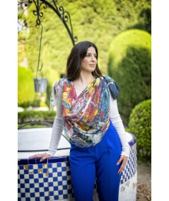 AZUL FLORAL MUJER  125,00€